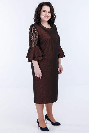 Платье Belinga 1085 коричневый фото