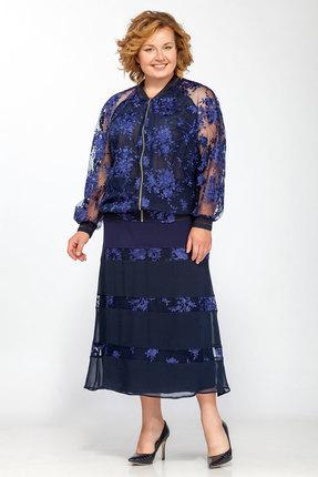 Комплект юбочный Belinga 1222 синие тона