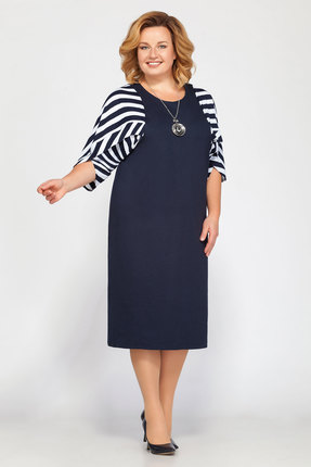 Платье Belinga 1201 синий фото