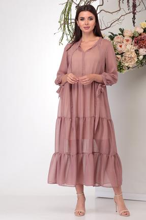 Платье Michel Chic 995 розовые тона