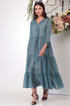 Платье Michel Chic 995 сине-зеленый