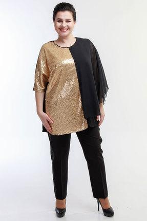 Комплект брючный Belinga 2010 черный с золотом фото