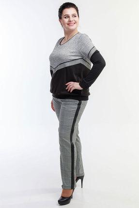 Комплект брючный Belinga 2017 серый с черным фото