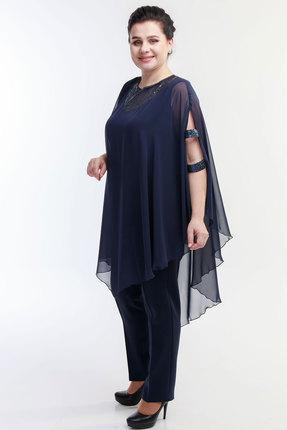 Комплект брючный Belinga 2018 синий фото