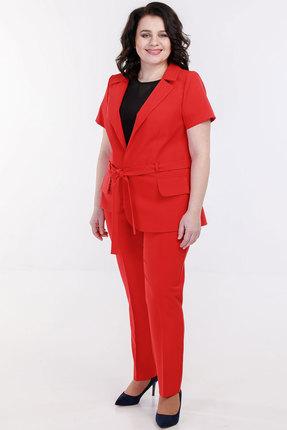 Комплект брючный Belinga 2030 красный фото