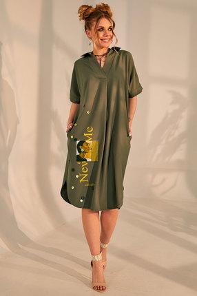 Платье Golden Valley 4688 олива