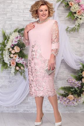Платье Ninele 5783 пудра