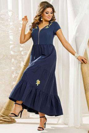 Платье Vittoria Queen 11323 синий