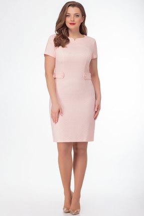 Платье Anelli 498 розовый фото