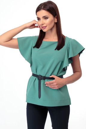 Блузка Anelli 280 зеленый