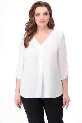 Блузка БелЭкспози 1329 белый фото