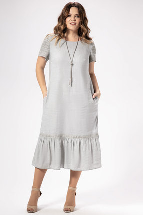 Платье Panda 475280 серый