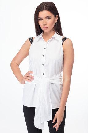 Блузка Anelli 825 белый фото