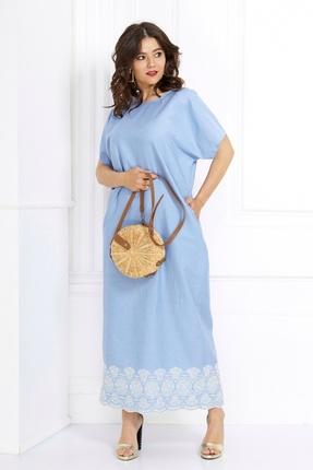 Платье Anastasia 430.1 светло-синий фото