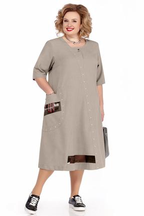 Платье Pretty 1113 серые тона