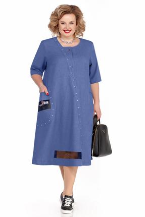 Платье Pretty 1113 синий