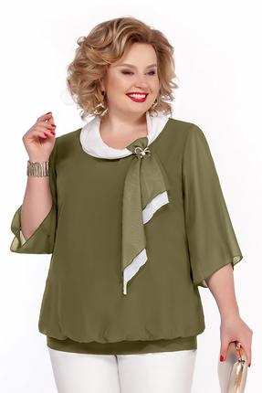 Блузка Pretty 380 зеленый