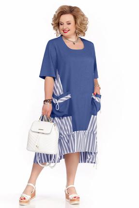 Платье Pretty 1109 синий фото