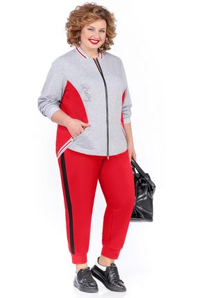 Спортивный костюм Pretty 1018 красный фото