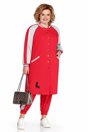 Спортивный костюм Pretty 1043 красный фото