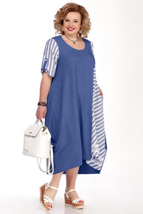 Платье Pretty 1100 синий