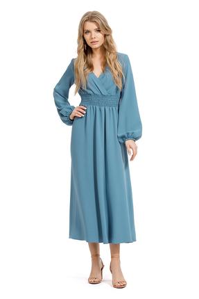 Платье PIRS 1262 бирюзовые тона фото