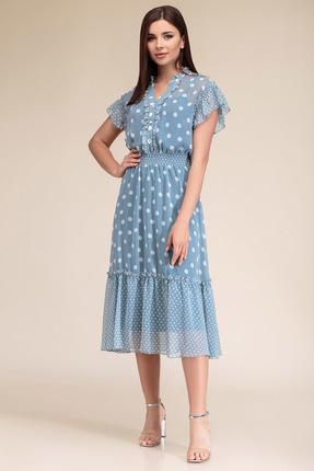 Платье Gizart 7325г голубой