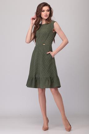 Платье Verita Moda 2070 зеленый фото
