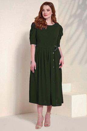 Платье Olegran 768 зеленый фото