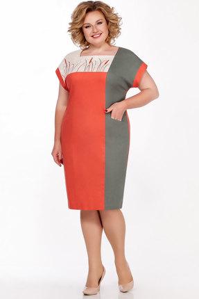 Платье LaKona 1305 коралловый