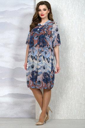 Платье Белтрикотаж 6675 мультиколор