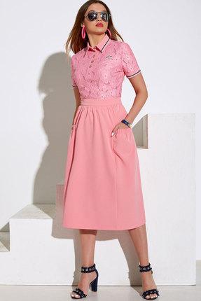 Комплект юбочный Lissana 4018 розовый