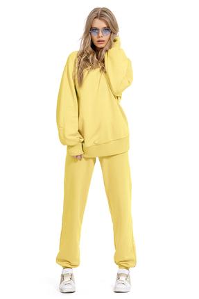 Спортивный костюм PIRS 1270 желтый фото