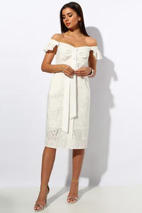 Платье Миа Мода 1163-1 шампань