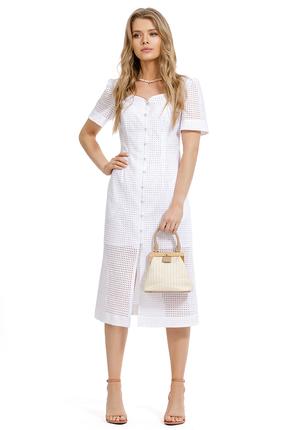 Платье PIRS 1282 молочный