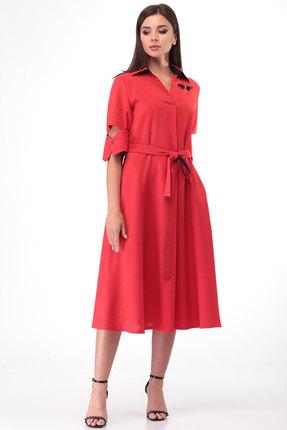 Платье Lady Three Stars 2010 терракотовый