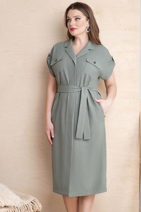 Платье ЮРС 20-363-1 серые тона