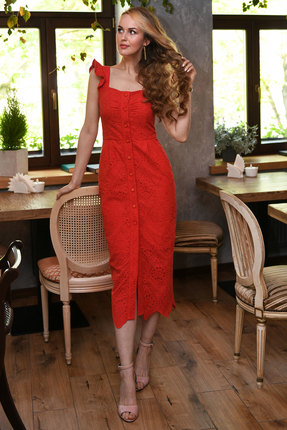 Платье Andrea Fashion AF-15-2 красный