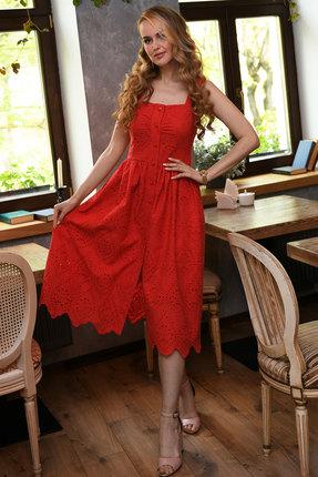 Сарафан Andrea Fashion AF-16-2 красный