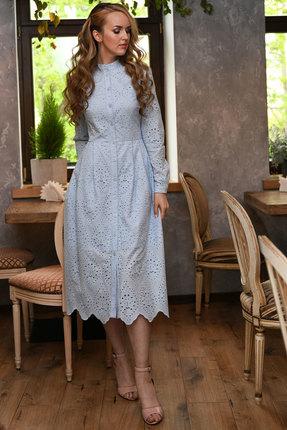 Платье Andrea Fashion AF-17н голубой