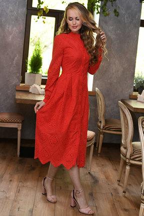 Платье Andrea Fashion AF-17-2 красный фото