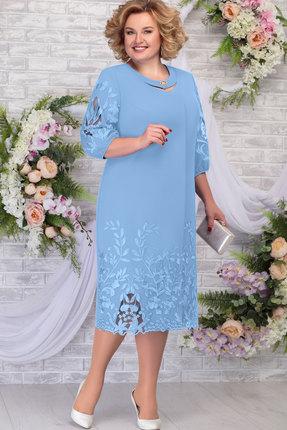 Платье Ninele 5786 голубой