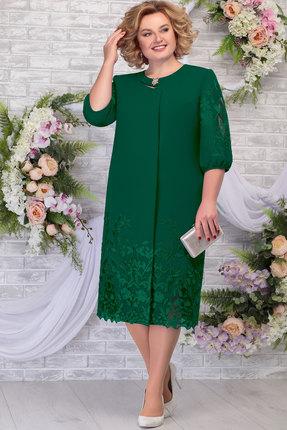 Платье Ninele 5786 изумруд