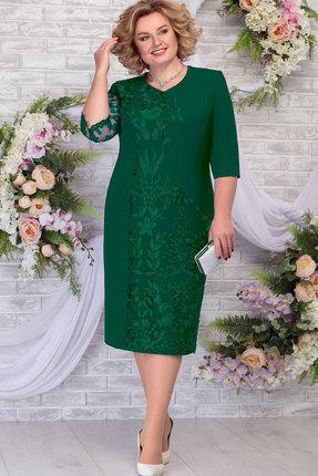 Платье Ninele 7290 изумруд фото