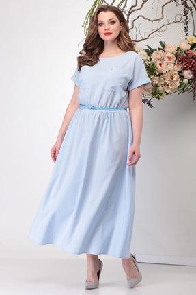 Платье Michel Chic 664 голубые тона фото