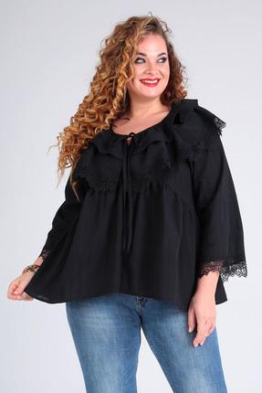 Блузка Таир-Гранд 62380 полоска-черный