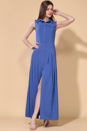 Платье Doggi 3651 синий фото