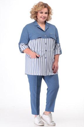 Комплект брючный KetisBel 2463 голубой фото