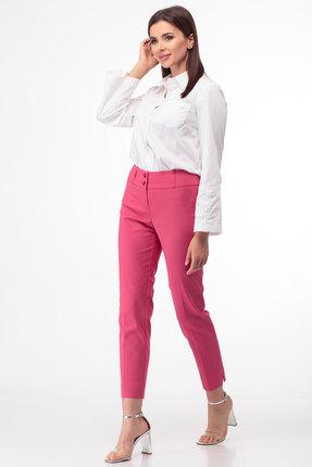 Брюки Anelli 228 розовый фото