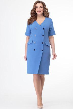 Платье Anelli 333 голубой фото
